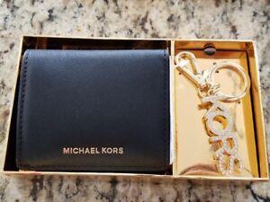 d184458e33d5 MICHAEL MICHAEL KORS MD Carry All Box Set Black LEATHER MSRP $108.00 ...