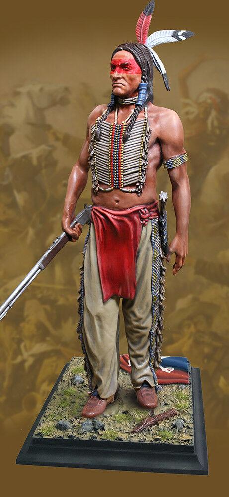 KOLLEKTORER SHWCASE Gammal WEST CS6014 Crazy Horse STATUE MIB