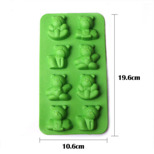 Silicone Ice Cube Tray Freeze Mold DIY Jelly Chocolate Maker Moulds Easy Pop Out