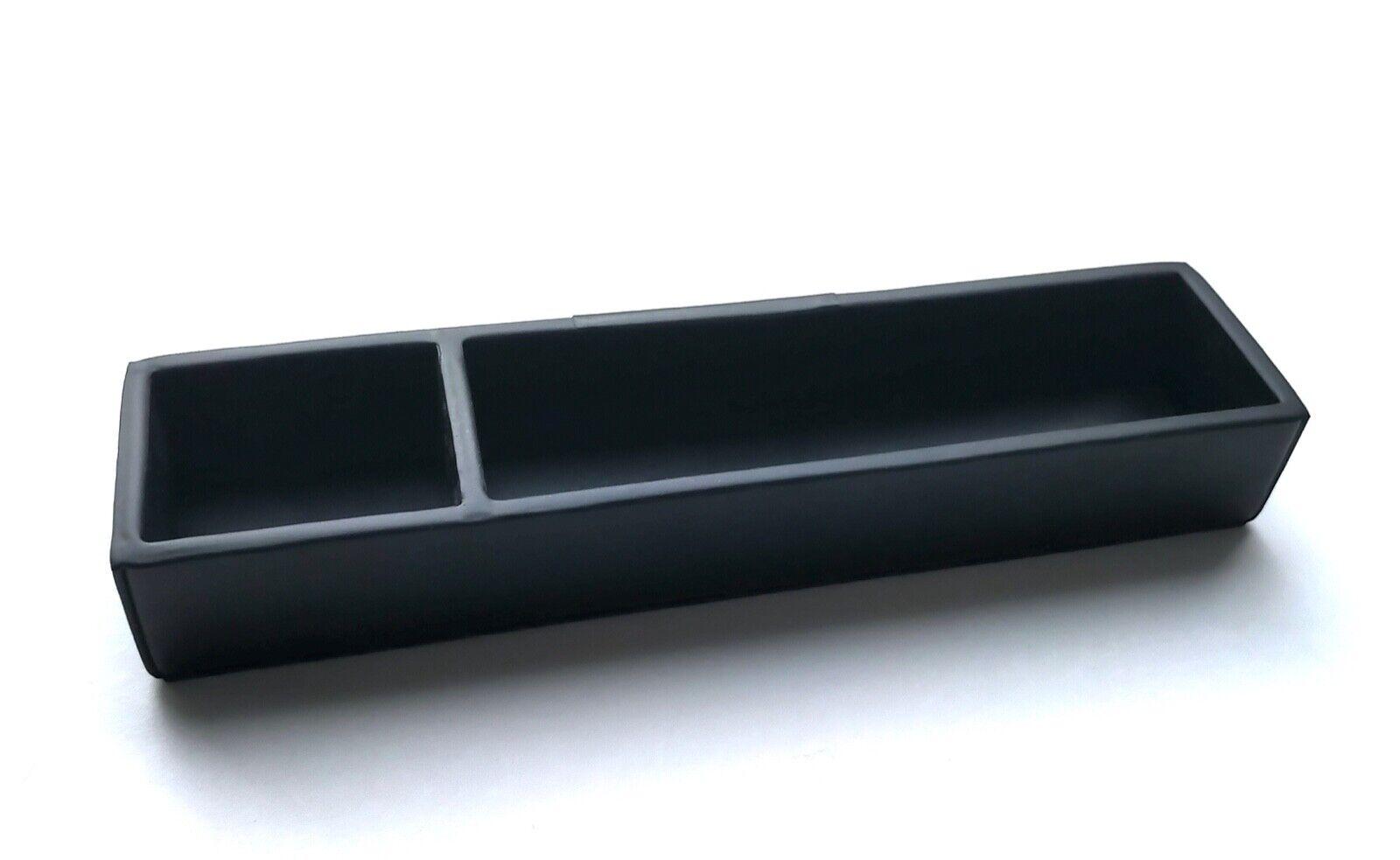 a.G Spalding & Bros Calf Leather Pen Tidier, Black