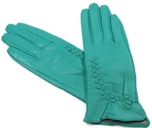 Damen  Echt Leder Handschuhe Gefüttert  Gr  S   M   L   XL   XXL   //L//24