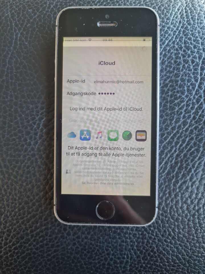 iPhone 5S, 16 GB, aluminium