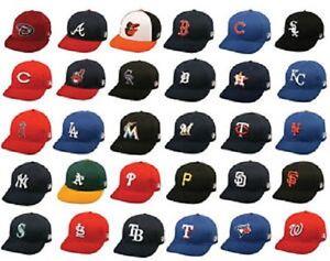 New MLB Youth Cotton Twill Raised Replica Baseball Hat 300 -Select ... 1a8e05547f13