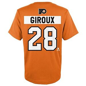 Philadelphia Flyers NHL Youth Boys GIROUX  28 Orange Player T-Shirt ... 8cacc715f