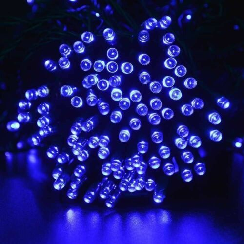 300//400 LED Solar Powered Fairy String Lights Outdoor Christmas Party Garden DIY
