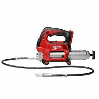 Milwaukee Grease Gun. M18 18-Volt Lithium-Ion Cordless 2-Speed Gun Tool Only 2646-20 Tools and Accessories