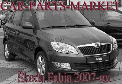 Droit Côté Conducteur Plat Aile Miroir De Verre Pour Skoda Fabia 2007-14 Chauffé Plaque