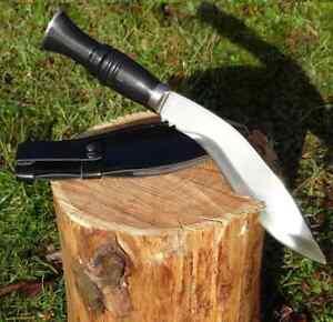 Kukri-Buschmesser-Machete-320mm-mit-Kunstleder-Scheide-Messer-Jagdmesser