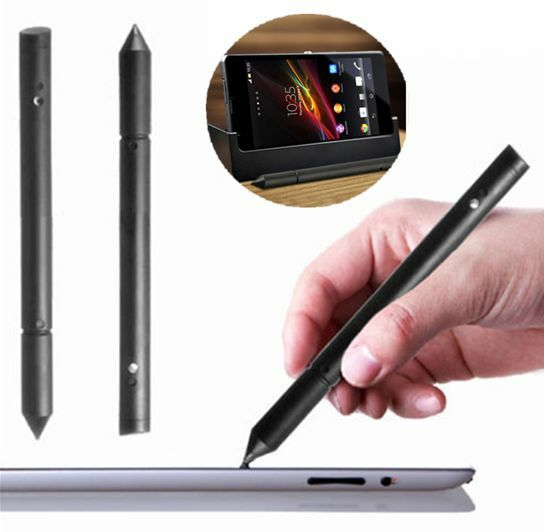 Universal 2 In 1 Touch Screen Pen Stylus For iPhone iPad Samsung Tablet Phone PC