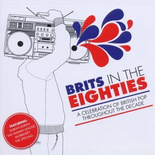 1 of 1 - Various Artists - Brits In The 80S - Various Artists CD OAVG The Cheap Fast Free