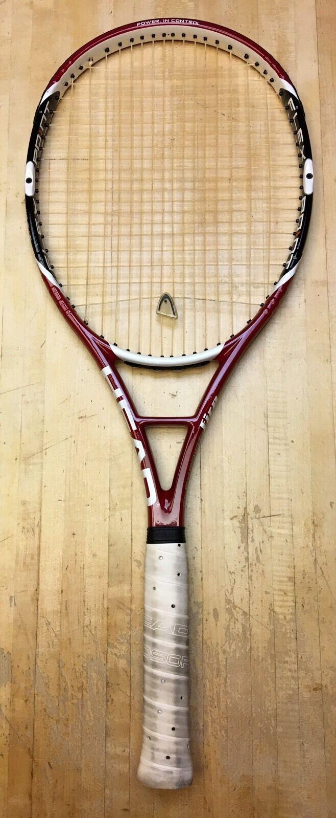 Cabeza Flexpoint fuego Mid Plus 102 tenis raqueta