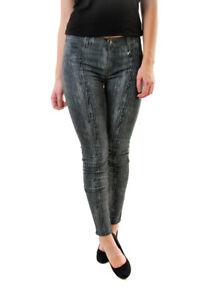 aderenti in Taglia Brand pelle granulosa di 801o241 27 Grigio 246 Bcf610 £ Rrp J Jeans FfxwTqwC