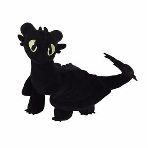 """Track How To Train Your Dragon 3 Toothless Plush Rag Doll With Tag 17/"""" 45cm Big"""
