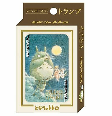 ENSKY Studio Ghibli Trump Playing Cards - My Neighbor Totoro
