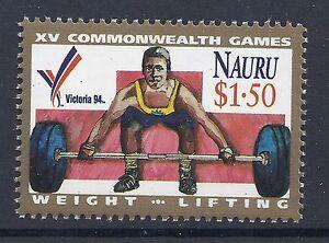 1994 NAURU COMMONWEALTH GAMES STAMP FINE MINT MUH/MNH