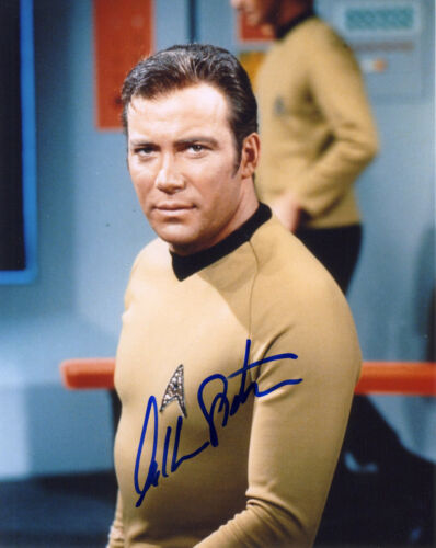 REPRINT - WILLIAM SHATNER 4 autographed signed photo