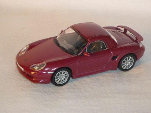 Porsche Boxster S Cabrio Mit Hard Top Coupe 986 2002 1//43 De Agostini Modellauto