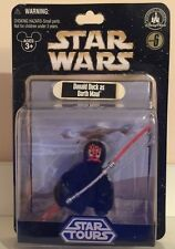 Disney Parks Star Wars Star Tours Series 6 Donald Duck as Darth Maul Figure NEW