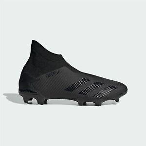 Adidas-Homme-Predator-20-3-Laceless-FG-Chaussures-De-Football-Ferme-Sol-Leger