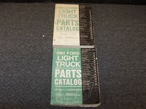 1992 Ford E150 E250 E350 Econoline Van Parts Catalog Manual