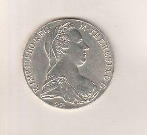 Maria-Theresien-Taler-1780-S-F-Guenzburg-Silber-833-1000-ca-28-Gramm-36-42mm