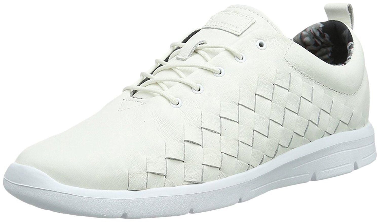 Vans Men's Tesella Leather 3D Aloha Sneakers White UK 9.5 EU 44 VN-0 VOAGNH