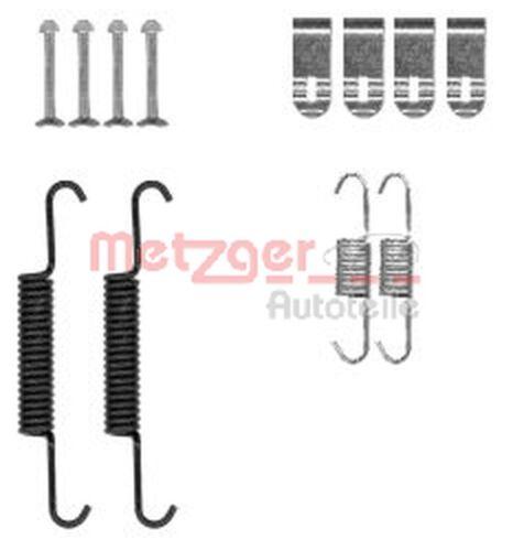 METZGER Zubehörsatz Feststellbremsbacken 105-0881 für OPEL CHEVROLET ANTARA L07