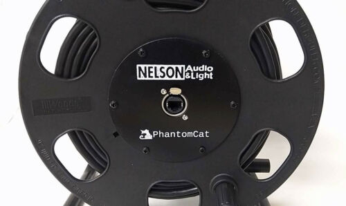 Ethercon Compatible 100/' PhantomCat Shielded Tactical Cat5 15/' Cable on Reel