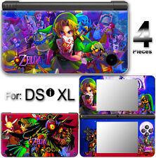 Legend of Zelda Majora's Mask SKIN STICKER COVER DECAL #1 for Nintendo DSi XL