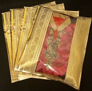 15 X Gold Saree Bags Wardrobe Storage Bags Indian Wedding Suit Gift