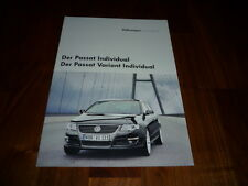 VW Passat Individual Prospekt 02/2006