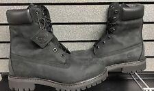 "Timberland 8"" Blackout Boots | Nubuck Leather | Size 10 | NEW | TB098540"