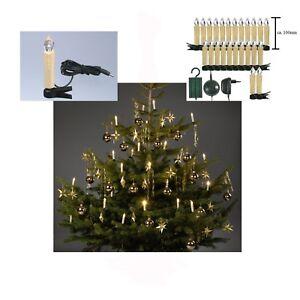 24 Innen Led Lichterkette Tannen Baum Kerzen Weihnachten