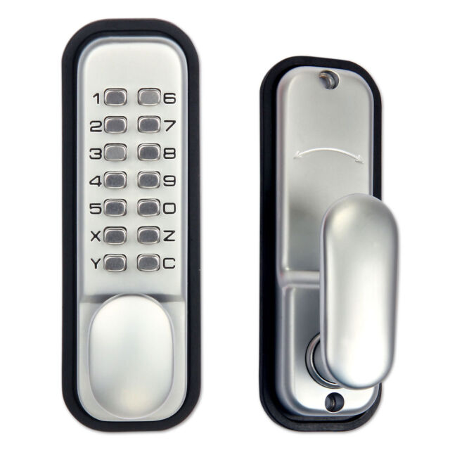 Mechanical Door Lock Digital Keypad Code Password Weatherproof