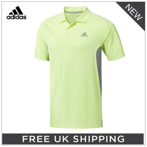 ALL COLOURS SIZES!** **ADIDAS /'2019/' ULTIMATE365 CLIMACOOL SOLID POLO SHIRT