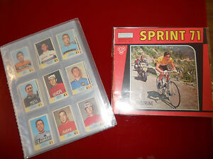 Album-Panini-034-Sprint-71-034-Album-Vuoto-Edicola-Set-Completo-250-figurine-Mint