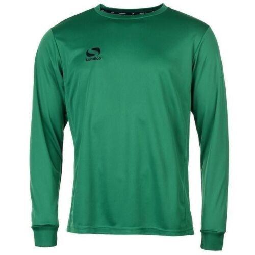 Mens Sondico Classic Football Training Long Sleeves Shirt Top Size S M L XL XXL