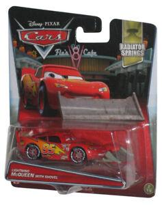 Disney Pixar Cars Lightning McQueen w/ Shovel (2016) Radiator Springs Toy Car #2