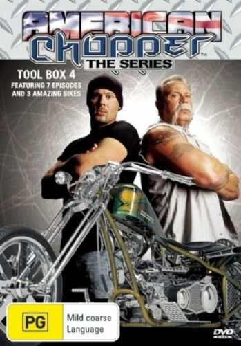 1 of 1 - American Chopper : Collection 4 (DVD, 2005, 3-Disc Set) - Region 4