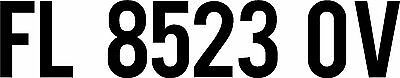 "PWC NUMBERS,BEBAS 3""(1) COLOR BOAT REGISTRATION NUMBERS PWC BOAT LICENSE,JET SKI"