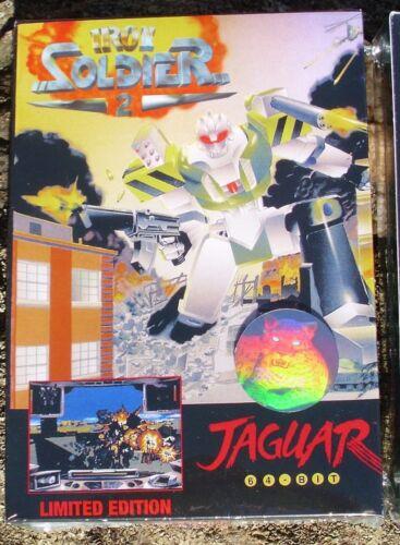 IRON SOLDIER 2 Atari Jaguar NEW Factory Sealed BLACK LABEL Telegames
