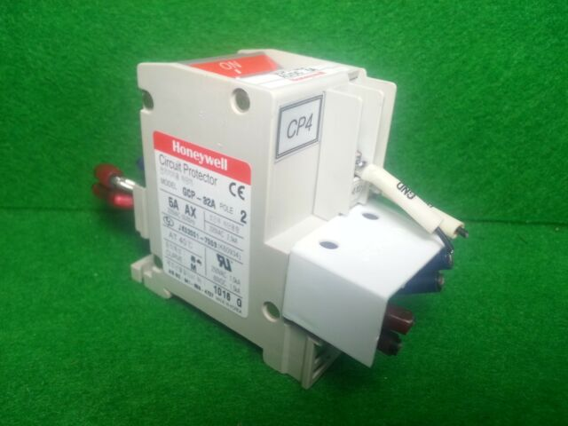Honeywell Gcp-32a 5a Circuit Protector 2 Pole Switch | eBay