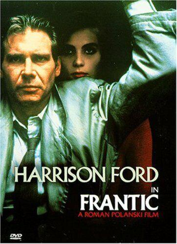 Frantic DVD, 1988 Harrison Ford Very Good - $0.99