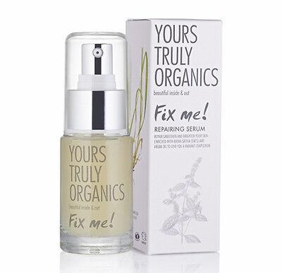 Yours Truly Organics Fix Me Repairing Serum 30ml Brand New Boxed