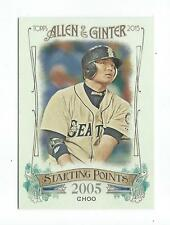 2015 Topps Allen and Ginter Starting Points #SP88 Shin-Soo Choo Mariners