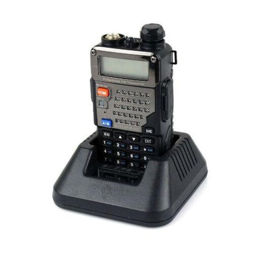 Baofeng UV-5RE Plus 128CH Dual band UHF/VHF FM 2-way Radio Black Walkie Talkie