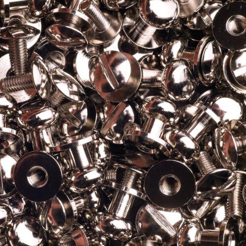 15 knopfschraubnieten cartucheras cierre 8mm níquel-brillante