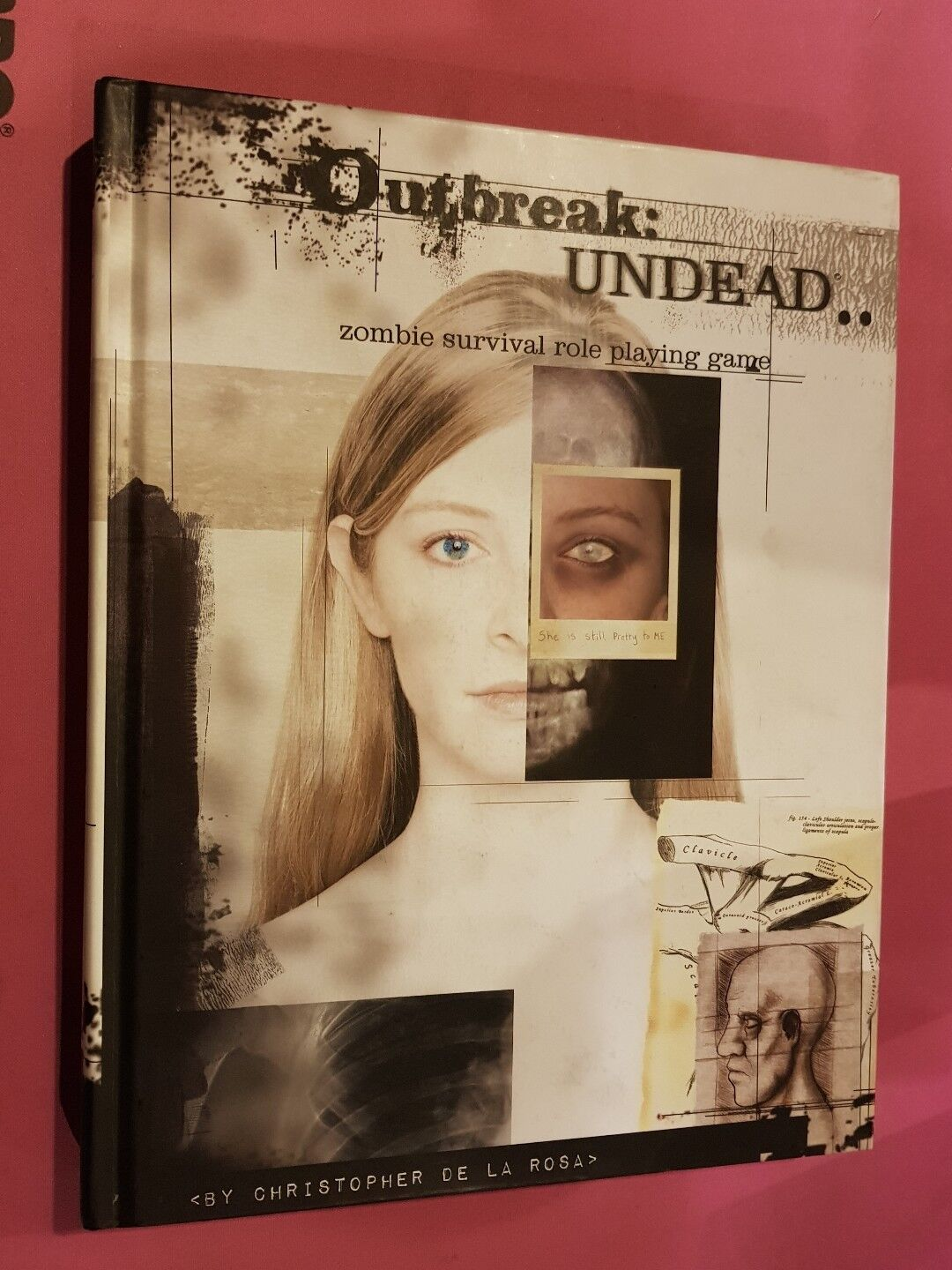 OUTBREAK   UNDEAD - ZOMBIE SURVIVAL ROLE PLAYING GAME RARE HARDBACK RPG OOP