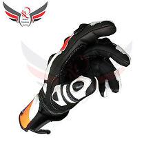 Honda moto Guantes Racing Guantes Cuero Repsol Motocicleta trajes de tamaño mediano
