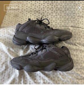 Adidas Yeezy 500 Utility Black Size 8